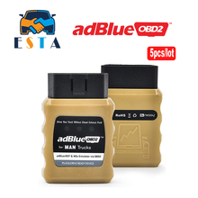 5Pcs/lot High Quality AdblueOBD2 Emulator for MAN Trucks Plug and Drive Ready in stock DHL free