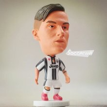 Soccer figurine sports stars  Dybala 2016~2017 Movable joints resin model toy action figure dolls collectible gift