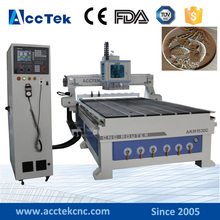 1530 cnc router for furniture vacuum t-slot combination table cnc router auto tool changer with rotary(China)