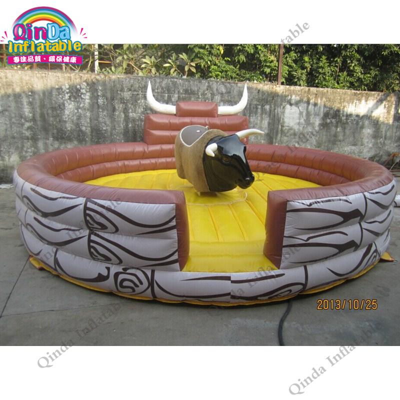 inflatable mechnical bull mat20