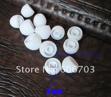 2000 pcs white / large size EARBUDS REPLACEMENT TIPS earplug FOR beats tour lady gaga / sony earphones 2000pcs per lot(China)