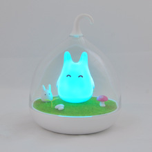 Bird Elf Birdcage Night Light Soft Light Help Your Baby Fall Asleep Faster Intelligent Touch Sensor Bird Cage LED Night Light(China)