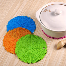 18 cm round thicker silicone cup mats pads stretch bowl wrap cover reusable cup holders mats