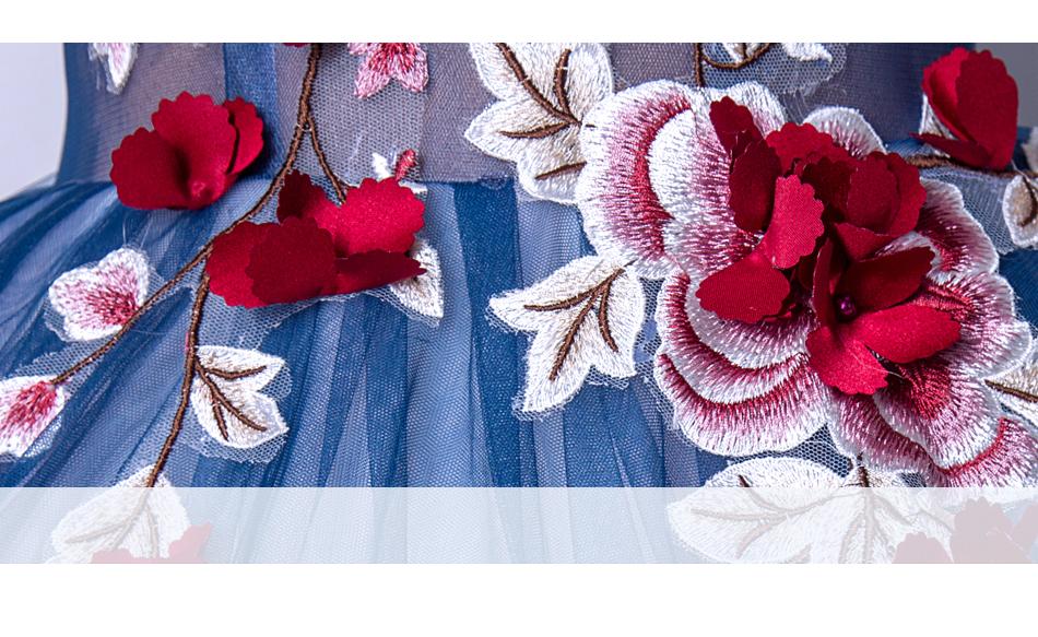 Angel Wedding Dress Marriage Evening Bride Party Prom Bridal Gown Vestido De Noiva Blue camouflage, fantasy flowers 2017 7572 8