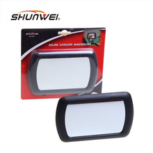 New! Large car makeup mirror car sun-shading mirror car cosmetic mirror vanity mirror auto supplies Freeshipping