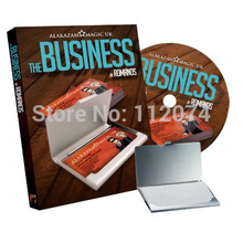 The Business (DVD and Gimmick) Magic Tricks Magician Card Magie Close Up Illusion Props Accessories Mentalism(China)