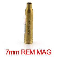 7mm REM MAG Cartridge  Red Laser Bore Sighter 7mm Cartridge Laser Boresight Copper Hunting 7mm Laser Red Dot