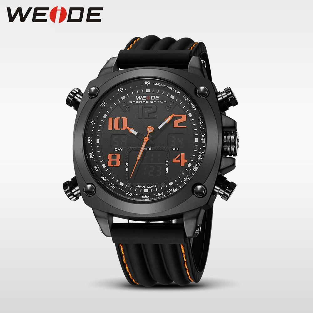 WEIDE genuine new  brand luxury sport lcd watch Multiple Time Zone relogio masculino esportivo relogio masculino digital watch<br>