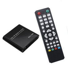 HDD Media Player Full HD 1080P SD/U Disk USB External multimedia player With HDMI VGA Output Support MKV H.264 RMVB WMV(China)