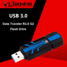 Kingston USB Flash Drives 64GB Pen Drives 32GB Mini High Speed 120MB/s Plastic PenDrives 16GB USB 3.0 Memory Stick Flash U Disk(China)