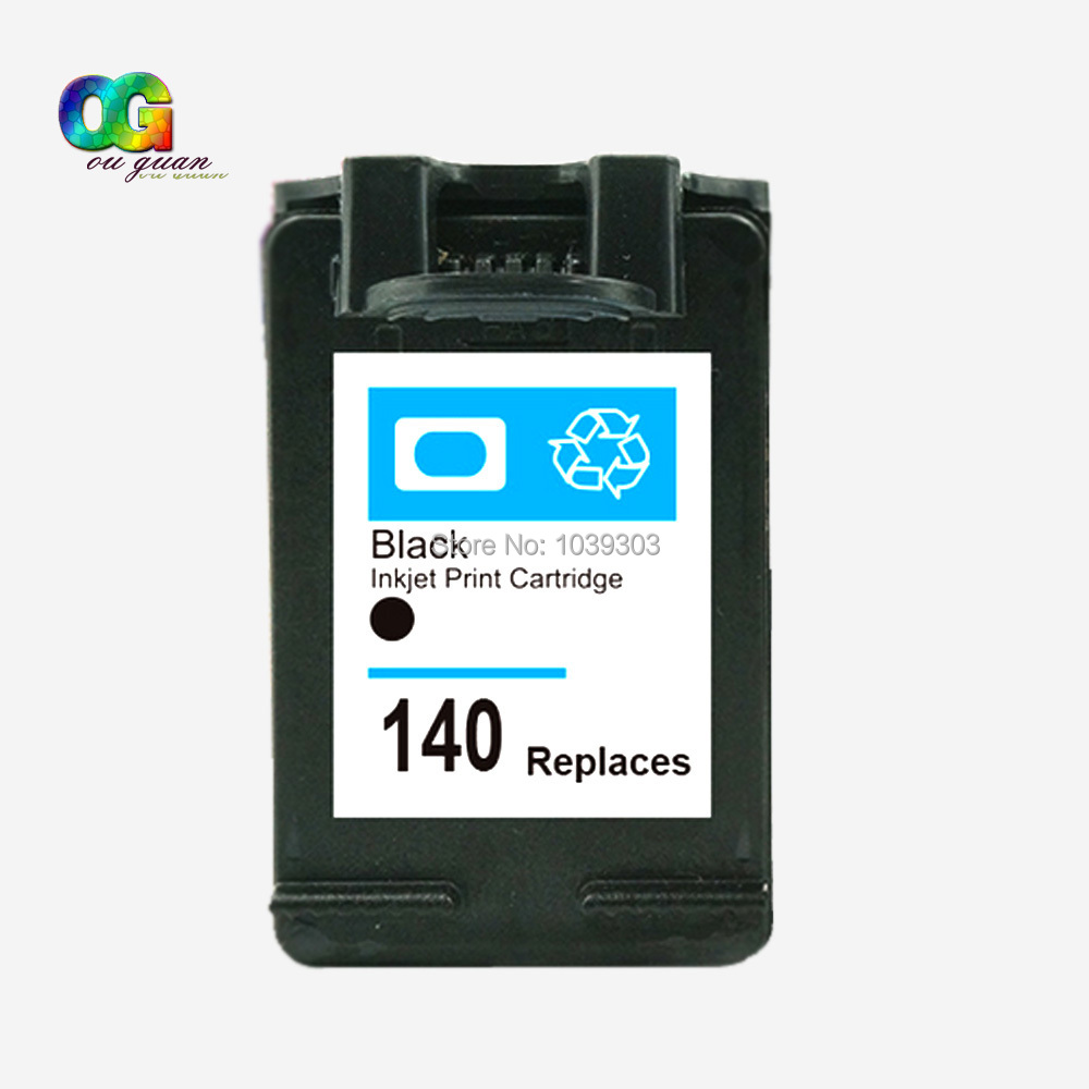 1pk For HP 140 hp140 XL ink Cartridge CB336HE Compatible for HP Officejet J5783 for HP DeskJet D4263 for HP Photosmart C4283<br><br>Aliexpress