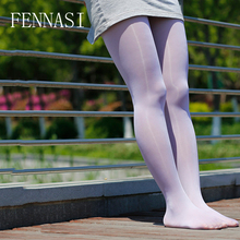 Buy FENNASI Oil Glossy Women's Tights Oil Shiny Open Crotch Sexy Pantyhose Crotchless Female Erotic Transparent White Black Tights