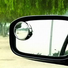 Car Wide Angle Round Convex Rear View Blind Mirror FOR  Ford Focus Fusion Escort Kuga Ecosport Fiesta Falcon Mondeo EDGE