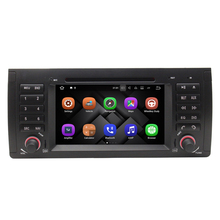Android 7.1 1024*600 Quad Core Car DVD Player GPS Radio for BMW E53 E39 X5 with Wifi 3G 4G Bluetooth RDS USB SD DAB TPMS Can Bus