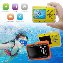 Waterproof 5MP Kids Camera 2.0 inch HD Children Camcorder Video Recorder Underwater Sports Mini Camera for child Christmas gift(China)