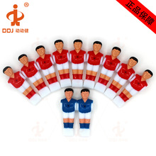 11 pcs/set Mini Foosball Table Games Soccer machine doll Toys Soccer Table Player Plastic Kickers Table Football Player (16 mm)(China)