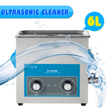 Clerance 6L Digital Heated Ultrasonic Cleaner Ultrasonic Washing Machine GT SONIC VGT-1860QT(China)