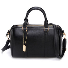 Boston Tote Bag 2017 New Luxury Brands Women Shoulder bags Crossbody Women Bag Leather Handbag Bolsa Feminina Solid Pillow Bag 4