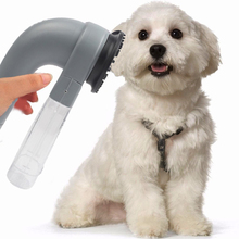 2017 fashion Pet supplies Dog Hair Fur Trimmer Remover Shedding Grooming Brush Comb Vacuum Cleaner Fur Trimmer Pet Accessories