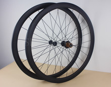 Super light road bike carbon Tubular wheelset 38mm deep 23mm wide 20h front 24h rear 700c bicycle wheels J-hook hub aero spokes