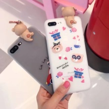 Buy 3D bear case iphone 7 plus 6 6splus cute Cartoon lying Case apple iphone soft silicone cover iphone7 love bear car for $4.74 in AliExpress store