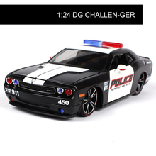 Diecast Model DG Challenger STR911 1:24 Alloy Car Metal Toys gift modified car simulation model For Collection(China)