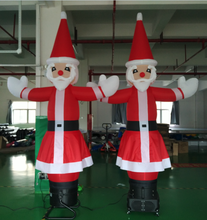 3m Christmas santa dancer, one leg air dancer, dancing man, inflatable air dancer(with CE/UL blower)(China)