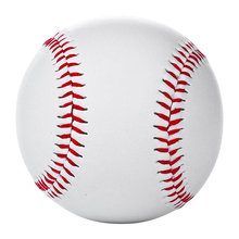 Sport Accessories Equipment BaseBall Soft Leather Game Practice Trainning Softball Useful White 9""