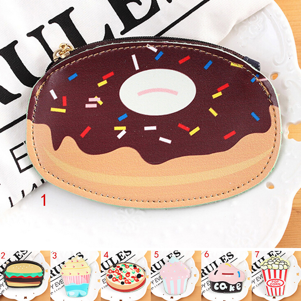 1 PC High Quality Creative Hamburger Hot Dog PU Leather Stationery Case Cover Pencil Case Cute