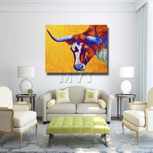 The Spanish Bullfight Paintings Wall Art Painting picture Home abstract Decorative Art Picture Paintings Ready Hang On The Wall(China)