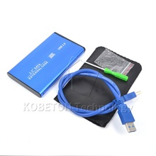 "NEW USB 3.0 to SATA 2.5"" inch HDD External Enclosure USB3.0 Hard Disk Drive Case Box for PC Computer Laptop Notebook"