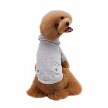 2017 New Cotton Pet Sports Sweater Fight Color Dog Hoodie Teddy Pet Clothes Autumn And Winter Pet Clothing Teddy Bears(China)