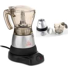 Electric Automatic 3 minutes Coffee Maker French Press Cafetiere 4 Cups Coffee Tea Pot Kettle Home Office Coffee Machine