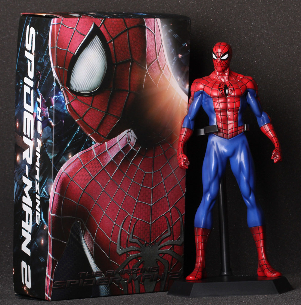 Crazy Toys Mavel The Amazing Spiderman PVC Action Figure Model Collection Toys 1230cm hot selling<br>