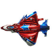 Ultra Large Size Fighter Aeroplane Foil Balloon Warplane for Birthday Party Decoration Children's Day Gift