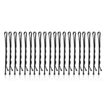 Hot sale Professional makeup hair maker accessory round toe black hair clip 48pcs/card bobby pins Tool Tools
