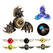 Buy Metal Bat Eye Hand Fidget Spinner Colorful Harry Potter Angel Wings Finger Spinner Stylish Adult Kid Child Spiner Toy Gyro Gift for $1.71 in AliExpress store