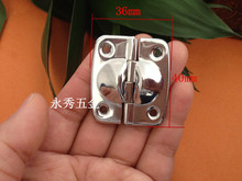 40 * 36MM silver hinge luggage luggage fixed hinge  decorative fixed hinge