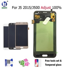 KEDY LCD Display+Touch Screen Digitizer Assembly For Samsung Galaxy J5 2015 J500 J500H J500FN Can Adjust Brightness Free Tools(China)