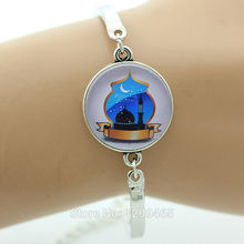 Personalized gift Bracelet for Islamic Wearable Art  Relatives Of The Best New Year  Islamic blue mosque Muslim religious  B099