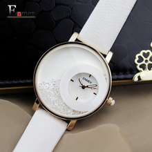 2016 festival Memorial Day gift Enmex women luminous hands  Swan Lake wristwatch  Sand bottle  fashion quartz diamond watches