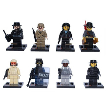 SY168 The Pacific War US Navy Soldiers Figures Building Blocks Bricks Toys Military US Army Model Educational Brick Kids Toys