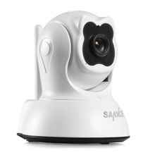 SANNCE IP Camera 1.0MP 720P Pan&Tilt P2P Wifi Wireless Security Camera with Night Vision Ip Cameras