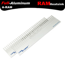 ALSEYE RAM heatsink Memory cooler cooling Aluminum heatsink radiator for ram 127X32mm memory chip heat sink DDR1,2,3,4,5(China)