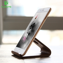 FLOVEME Universal Wooden Phone Stand Holder For iPhone 6 6s 7 plus 5 5s se Samsung S6 S7 Huawei Xiaomi Tablet Desk Holder Stand