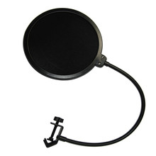 Double Layer Studio Microphone Pop Filter Wireless Swivel Mount Circular Shield For Recording Network K Songs