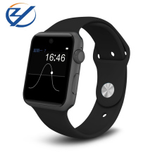 Mens and Womens smart watch bluetooth wearable devices smartwatch sim card for apple watch android pk dz09 a1(China)