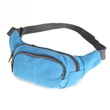 Male Bags Canvas Waist Bag Waist Pack Fanny Pack Bum Bag BeltBag for Travel