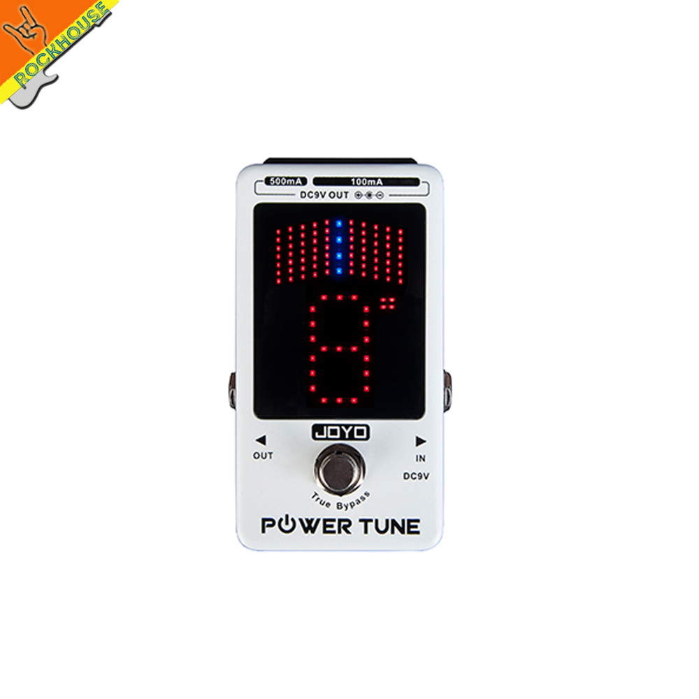 JOYO 2016 NEW JF-18R Guitar Effect Pedal Power Supply and tuner 2-in-1 8 way Isolated Output 6 for 100ma 2 for 500ma free ship<br><br>Aliexpress
