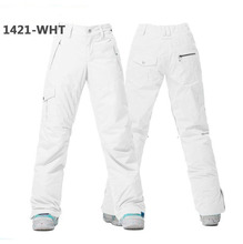 Good Quality Winter Ski Pants For Women Warm Waterproof Snow Skiing Snowboard Pants Outdoor Thicken Lady Snow Trouser